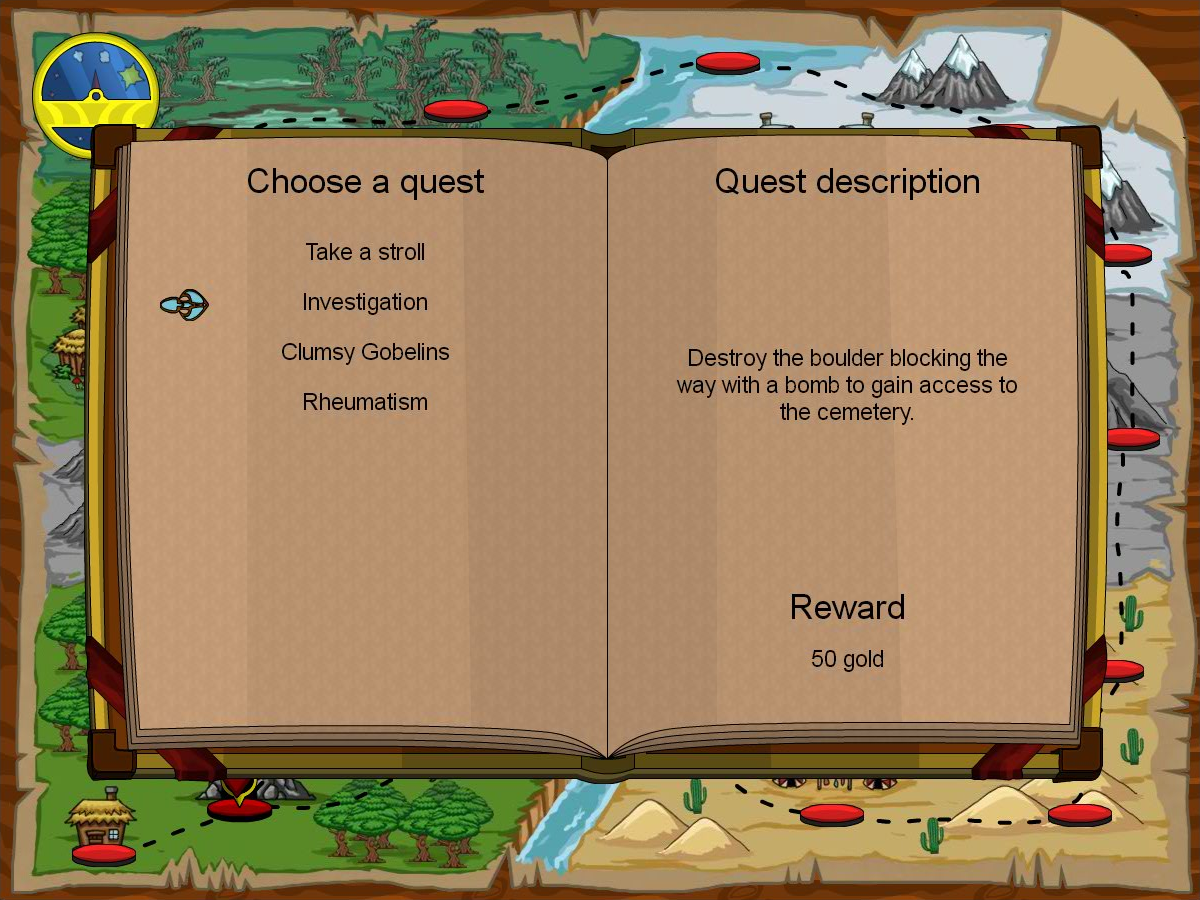Quest Selection